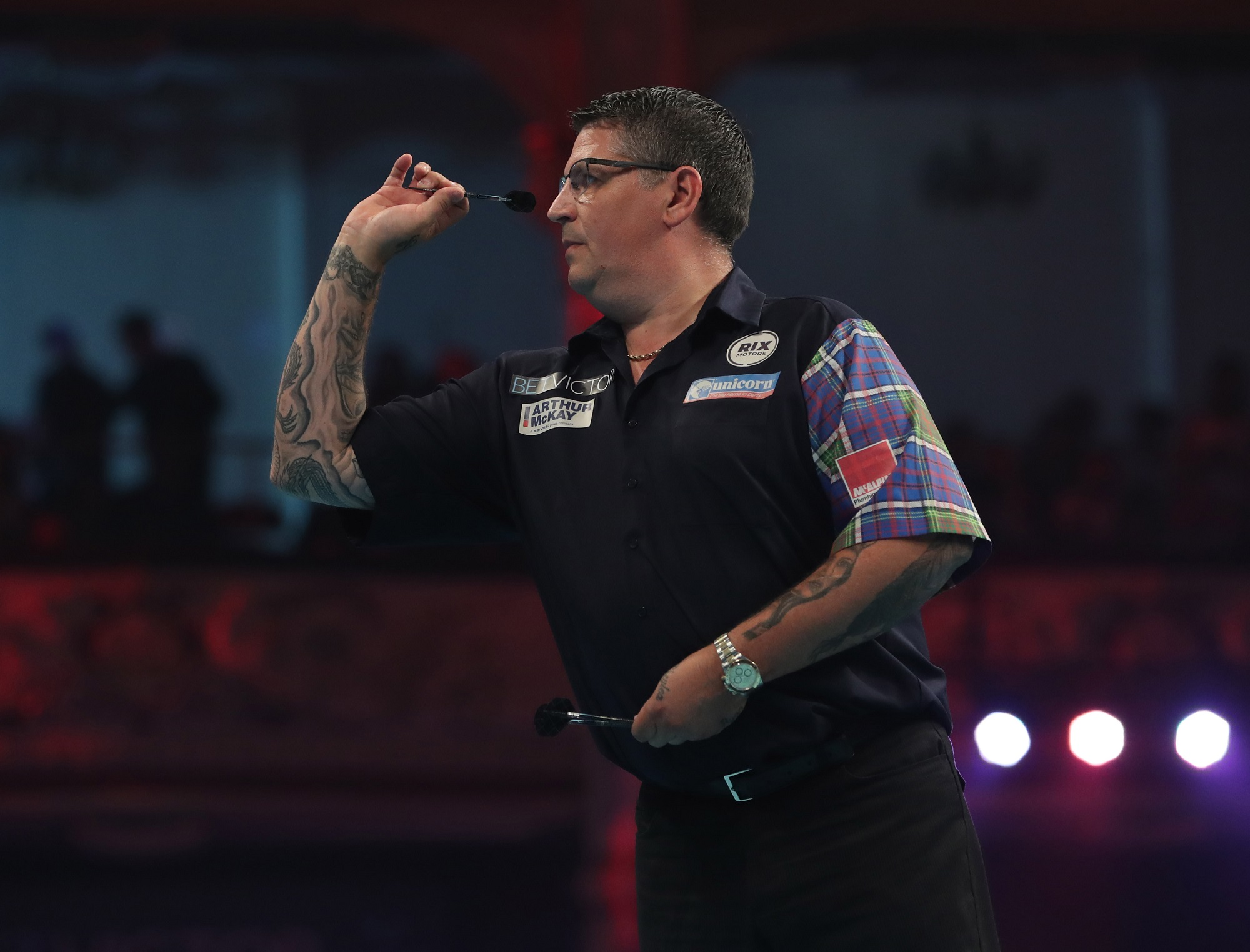 Photo of Gary Anderson by Lawrence Lustig/PDC